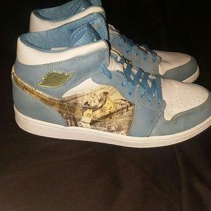 Retro Nike air jordan mens size 12 2007 royal blue
